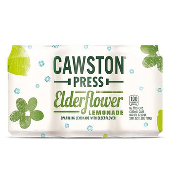 Cawston Press Drinks and Mixers, Elderflower Lemonade, 11.15 Ounce (Pack of 6)