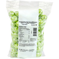 Sweetworks Lime Green Shimmer Gumballs: 2 lbs