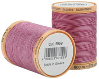 Gutermann Natural Cotton Thread Variegated 876 Yards-Plum Berry