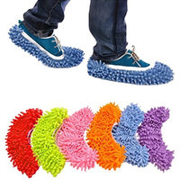 Kolylong Multi Function Mop House Clean Shoe Cover Floor Dust Cleaning Shoes Slipper