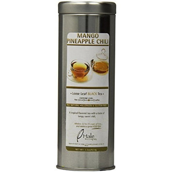 Hale Tea Black Tea, Mango Pineapple Chili, 1.5-Ounce