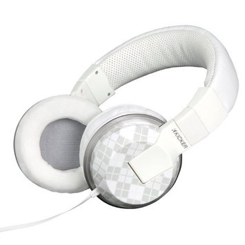 Kicker HP401M Cush Talk Over-Ear Headphones with Remote and Microphone