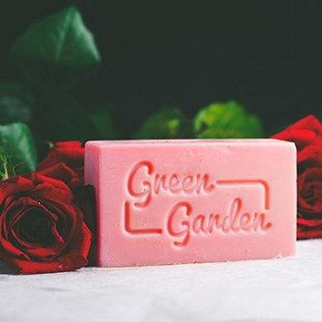 Green Garden Rose Handmade Soap 3.5oz