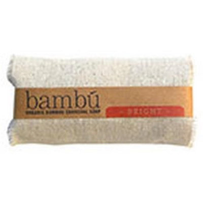 Bambu Soaps 231626 4.5 oz Citrus Blend Organic Bambu Charcoal Soap Bright Body Bars
