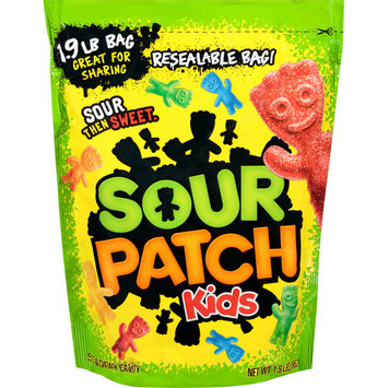 Sour Patch Kids, Big Soft and Chewy Candy, 1.9 Lb