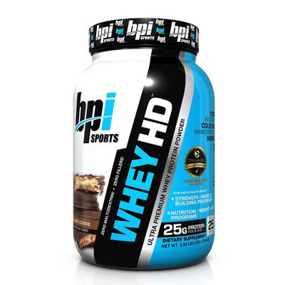 BPI Sports Best Whey Premium Protein Powder, Chocolate Cookie, 2.04 Pound