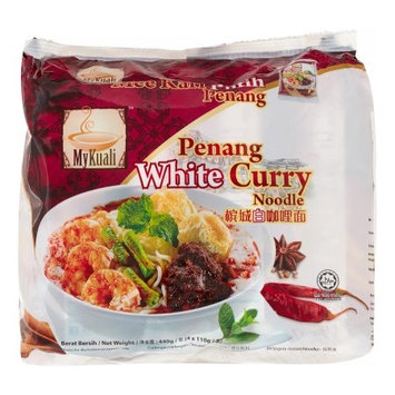 MyKuali Penang White Curry Noodle 4-Pack