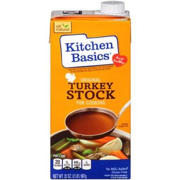 Kitchen Basics Original Turkey Stock, 32 OZ (Pack of 2)