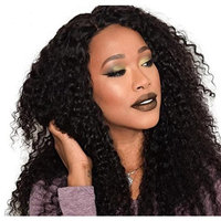 Top Quality Brazilian Human Virgin Hair Kinky Curly Wave 3 Bundle Deals Natural Black Color Curl Weave Hair For Sexy Woman Rruaneal Hair