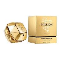Paco Rabanne Lady Million Absolutely Gold by Paco Rabanne for Women: Pure Perfume Spray 2.7 Oz