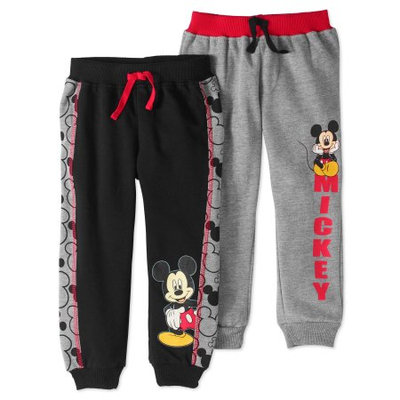 Fisher-price Disney's Mickey Mouse 2-pk. Jogger Pants Set, Boy's, Size: 4T, Black