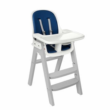 OXO Tot Sprout Chair with Tray Cover, Navy and Gray [1]