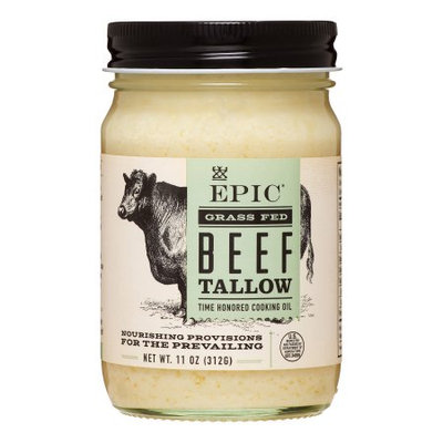 Epic Nutrition Epic Animal Oil - Beef Tallow - Case Of 6 - 11 Oz. 11 Oz