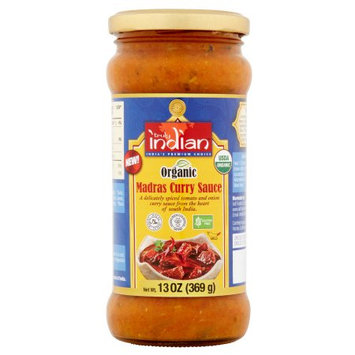 Zbi Inc. Truly Indian, Sauce Madras Curry, 13 Oz (Pack Of 6)