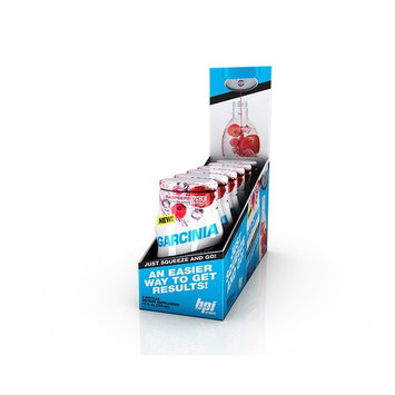 BPI Sports Garcinia Raspberry Ice, Liquid Water Enhancer, 24 Servings per Bottle, 6 Bottles