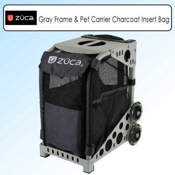Zuca Sport Bundle With Gray Frame SFG042 & Zuzuca Pet Carrier Insert Bag Charcoal PIBC204