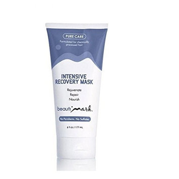 Intensive Recovery Mask By BeautiMark - Formulated for Processed Human Hair Wigs Extensions Hairpieces