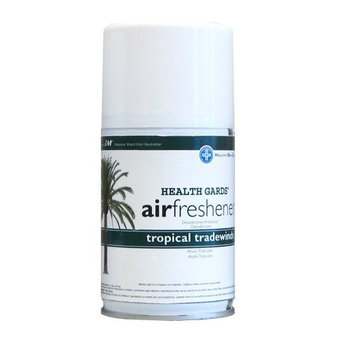 Hospeco Health Gards 07908 Tropical Tradewinds Metered Aerosol Air Freshener, 7 oz Can (Case of 12)
