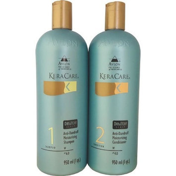 KeraCare Dry & Itchy Conditioner 950 ml & KeraCare Dry & Itchy Scalp Moisturizing Shampoo 950 ml Combo Set