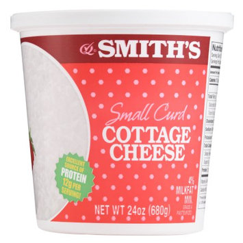 Smithfoods Inc. Smiths Smith Small Curd Cottage Cheese