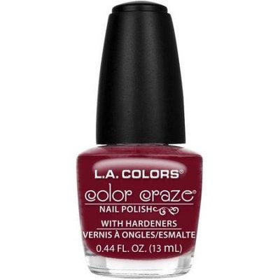 Beauty 21 Cosmetics, Inc. L.A. Colors Color Craze Nail Polish with Hardeners, Transformer, 0.44 fl oz