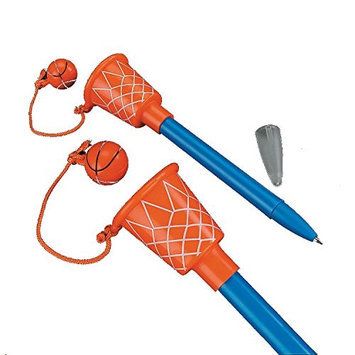 Fun Express Basketball Hoop Pens (1 dz)