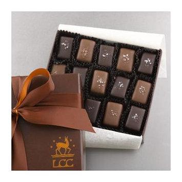 Lake Champlain Chocolates Assorted Sea Salt Caramels, 15 Piece, 5.2 Ounces