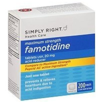 Member's Mark Maximum Strength 20mg Famotidine Acid Reducer - 200 Ct.