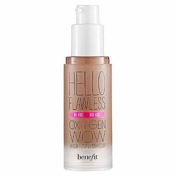 Benefit Cosmetics 'Hello Flawless' Oxygen Wow Liquid Foundation 'I'm Hopelessly Hot' Hazelnut 1 oz by CoCo-Shop