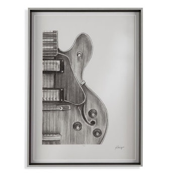 Bassett Mirror Stringed Instrument Study II