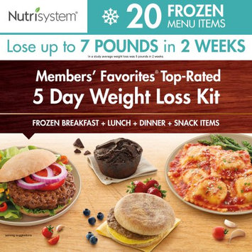Nutrisystem Members' Favorites Top-Rated 5 Day Weight Loss Kit, 21 pc