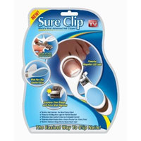 Nail Clipper Sure Clip Nail Clip with Magnifier Nail-clippers As Seen on Tv 1 Pc/pack