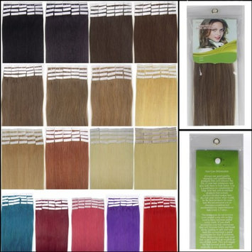 16-24 Inch Color Long 17 Colors 5 Length Tape in Premium Remy Human Hair Extensions_20 Pcs Set 70g Weight Straight Women Beauty Salon Style Design