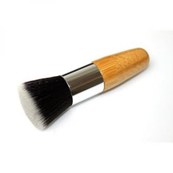 Syleia Flat Top Foundation Brush Essential for Perfect Makeup Coverage Kabuki Brush Makes Application Quicker, Easier, and Gives You Airbrushed High Definition Professional Look