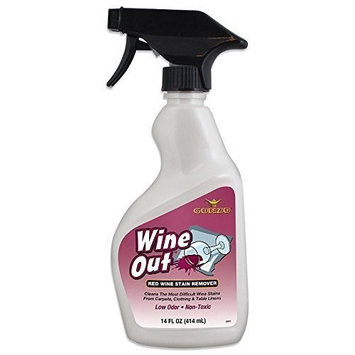 Gonzo Wine Stain Remover - 14 Ounce - Natural Magic Removes Wine Stains from Carpet and Fabric