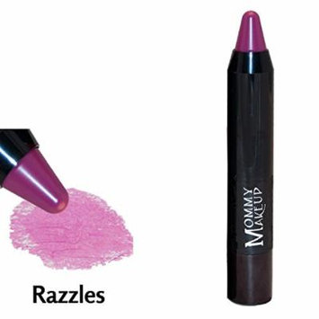 Sheer Sticks Lip Stain & Cheek Tint [Razzles] - Lip Liner, Lip Stain and Cheek Tint All-In-One by Mommy Makeup