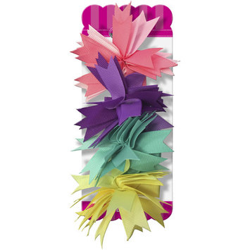 Gimme Ribbon Pom Hair Clips, 4 count