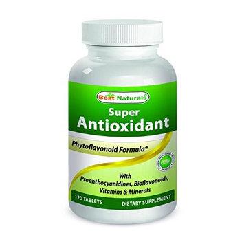 Best Naturals Super Antioxidant Formula 120 Tablets