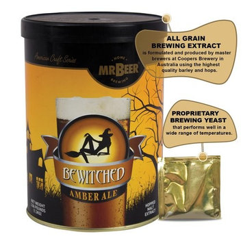 Mr. Beer 40-20943-00 Bewitched Amber Ale Craft Beer Making Kit