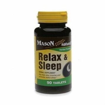 Mason Natural Relax & Sleep, Tablets 90 ea