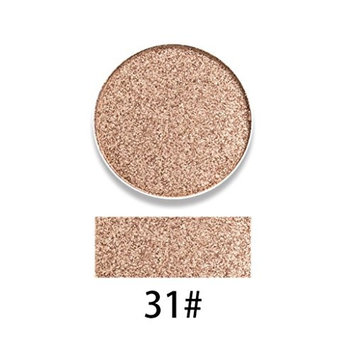 CYCTECH 10 Colors Cosmetics Highlight Eyeshadow Press Powder Makeup Glitter Smoky Eye Shadow