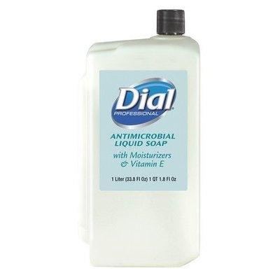 Liquid Dial? Moisturizers, Vit E Antimicrobial Soap Refill Cartridge, 1Liter