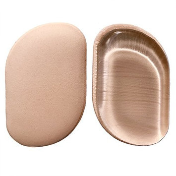 Best 2-in-1 Professional Silicone Sponge & Beauty Makeup Blender, Uses Less Foundation, Nonporous & Hygienic Sponges, Flawless Blending for Blushes & Concealer, 2-Pack