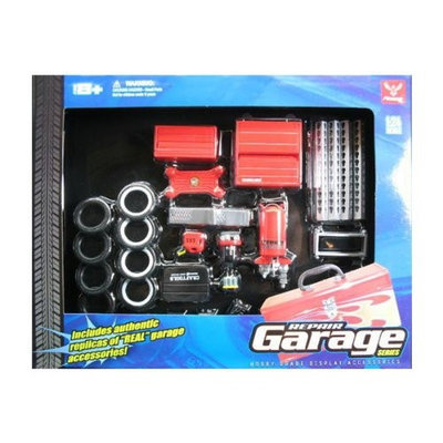 Phoenix Toys 18420 Garage Accessories Set for 1-24 Scale Diecast Models