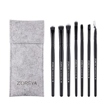 Makeup Brush Set, 7 Pieces Professional Makeup Brushes Essential Cosmetics With Case …