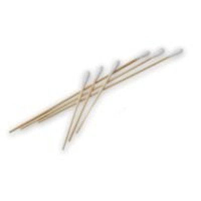 Puritan 806-WC Cotton Tipped Non-Sterile Applicators/Swabs with Wood Shaft, 1/10