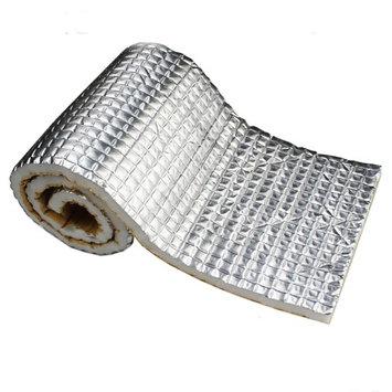Car Elements 200 MIL Car Auto Vehical Vehical Automotive Firewall Sound Deadener Heat Insulation Deadening Mat Noise Proofing Proof Shield Barrier (18'x40')
