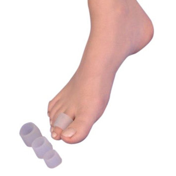 NEO G Silicone Ring - MEDIUM - Medical Grade Quality, Premium Quality Silicone HELPS Inter digital corns, blisters, realign toes, hammer/claw toes, friction and pressure - Unisex