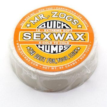 Sex Wax QUICK HUMPS 1X SURF WAX Pack of 2 Mr. Zogs