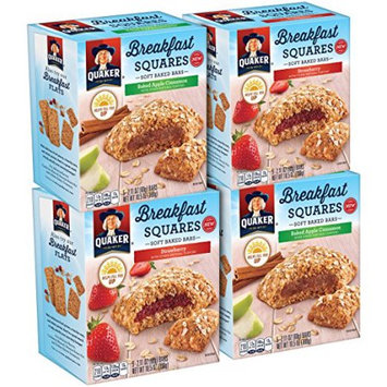 Quaker Foods And Distribution Inc. Breakfast Squares Variety Pack